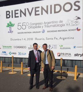 Dr. Rodrigo Banegas y Dr. Alberto Cid Casteulani.