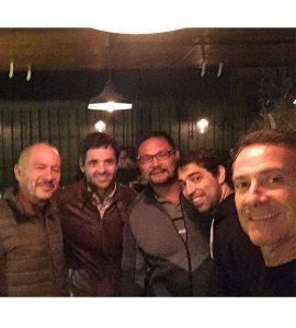 De izquierda a derecha: Dr. Marcelo Schieber, Dr. Juan Erquicia, Dr. Sebastián Sasaki, Dr. Nicolás Giacobbe y Dr. Alberto Cid Casteulani.
