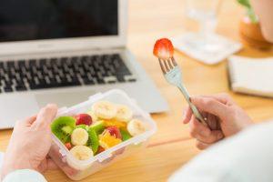 Colaciones saludables en el trabajo