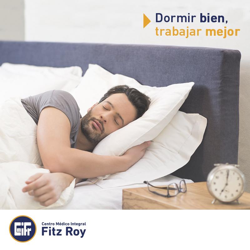 Dormir bien, trabajar mejor