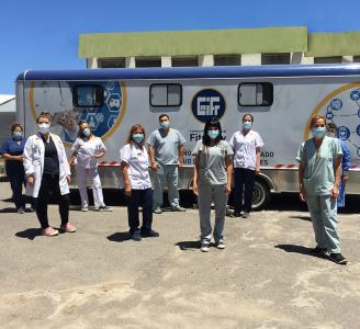 Unidad de Salud Móvil: operativos seguros